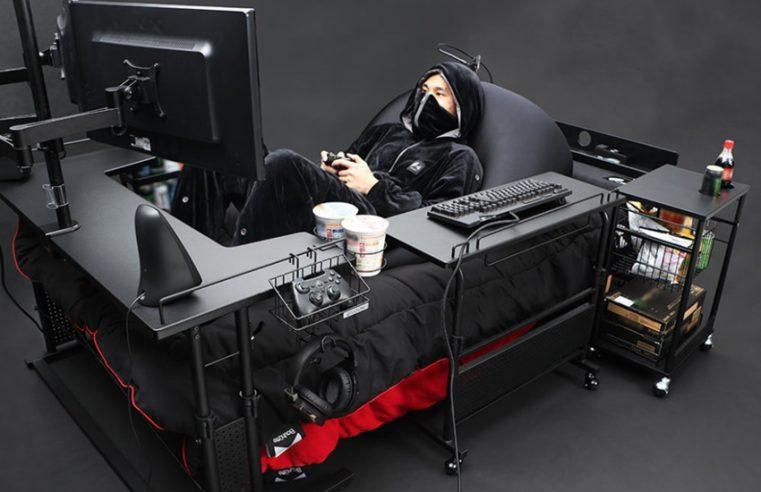 เก้าอี้สำหรับเล่นเกมมันเชยไปแล้ว ไปดูเตียงเล่นเกมกันบ้างดีกว่า!!