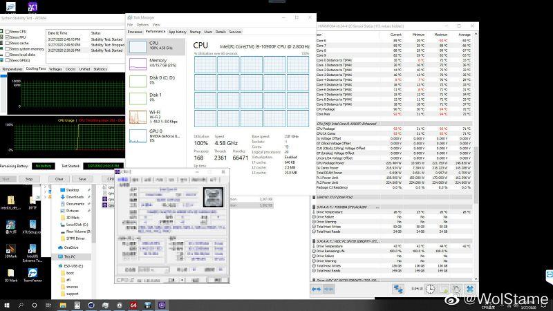 Intel Core i9-10900F ระบายความร้อน