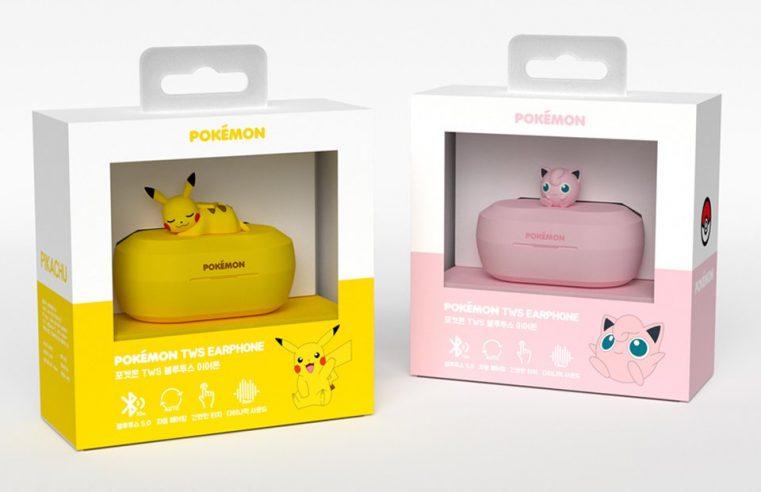 การเปิดตัวหูฟังไร้สายลิขสิทธิ์แท้ Pikachu และ Purin