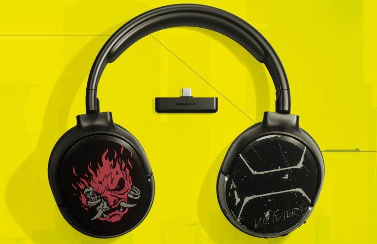 SteelSeries เปิดตัวหูฟังลาย Cyberpunk 2077 ใหม่