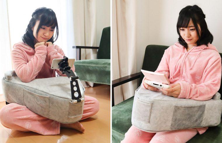 Turn A Cushion หมอนรองเล่นเกมเอาใจนักเล่นเกมชาวญี่ปุ่น