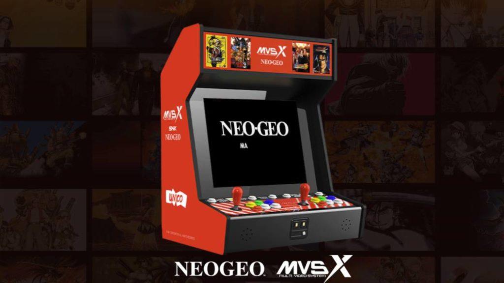 MVSX เครื่องอาร์เคดใหม่มีเกมให้เล่นมากกว่า 50 เกม