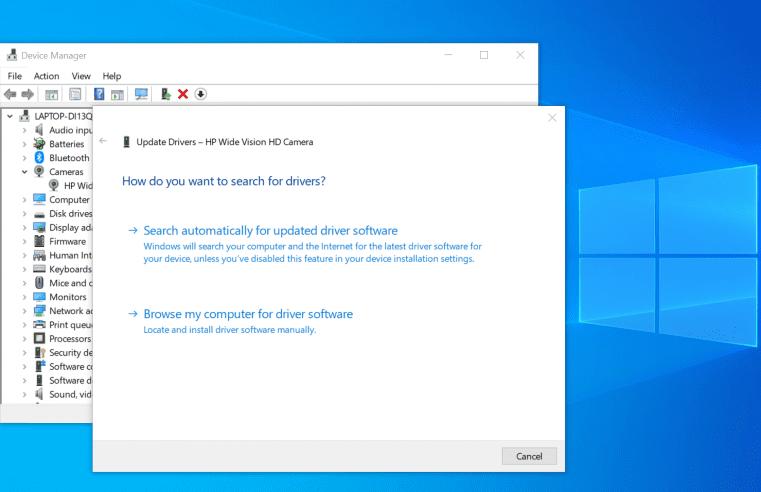 Microsoft เตรียมลบคุณสมบัติการอัปเดตไดรเวอร์ออกจาก Windows 10